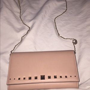 Valentino clutch/ chain on wallet